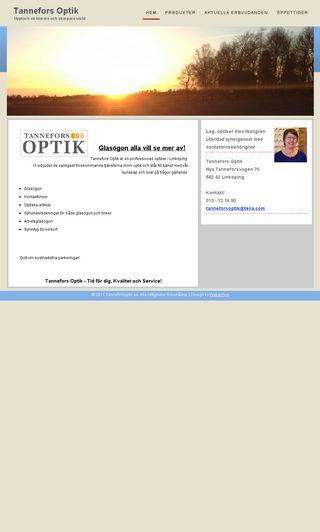 Mobile preview of tanneforsoptik.se
