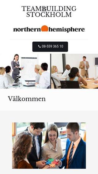 Mobile preview of teambuildingistockholm.se