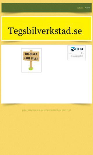Mobile preview of tegsbilverkstad.se
