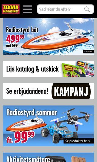 Mobile preview of teknikmagasinet.se