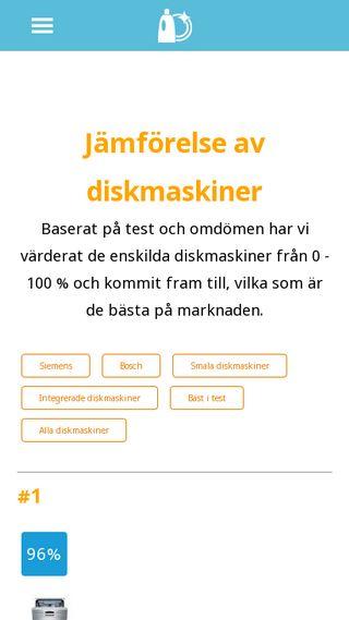 Mobile preview of test-diskmaskin.se