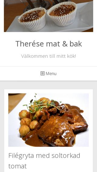 Mobile preview of theresematochbak.se
