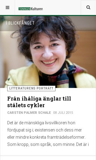 Mobile preview of tidningenkulturen.se