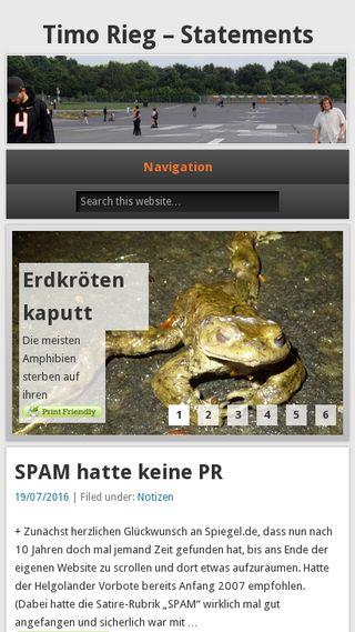 Mobile preview of timo-rieg.de
