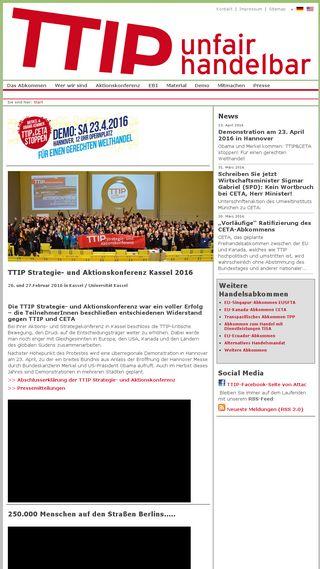 Mobile preview of ttip-unfairhandelbar.de