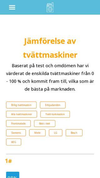 Mobile preview of tvattmaskin-test.se