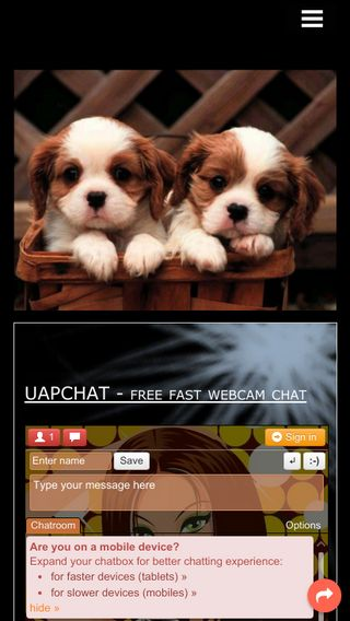 Mobile preview of uapchat.n.nu