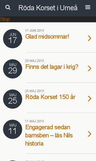 Mobile preview of umeakretsarna.se