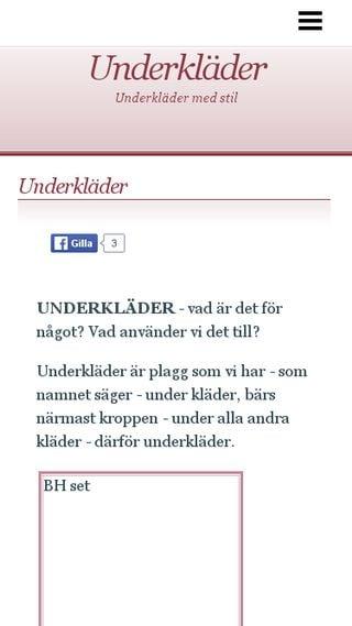 Mobile preview of underklader.n.nu
