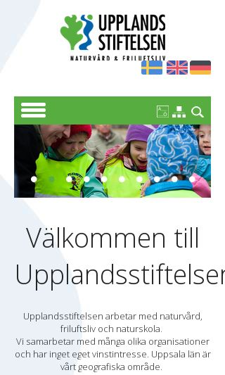 Mobile preview of upplandsstiftelsen.se