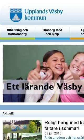Mobile preview of upplandsvasby.se