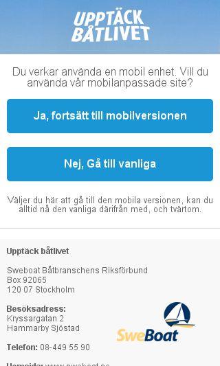 Mobile preview of upptackbatlivet.se
