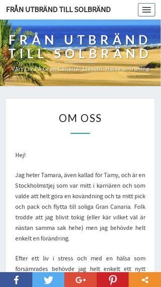 Mobile preview of utbrandtillsolbrand.se