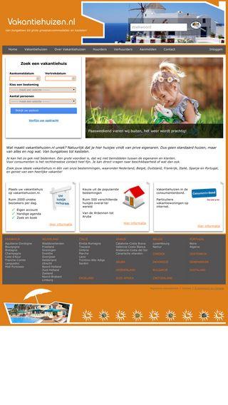 Mobile preview of vakantiehuizen.nl