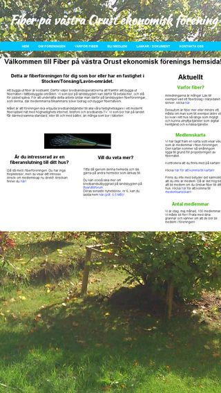 Mobile preview of vastraorustfiber.se
