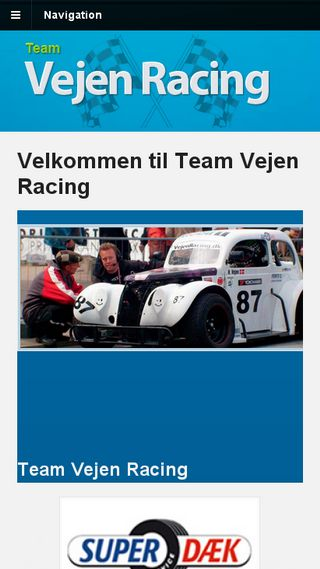 Mobile preview of vejenracing.dk