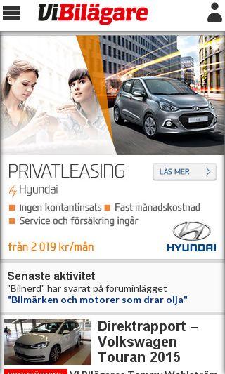 Mobile preview of vibilagare.se
