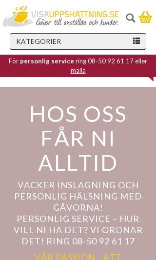 Mobile preview of visauppskattning.se