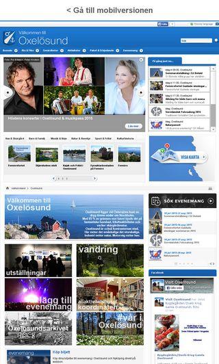 Mobile preview of visitoxelosund.se