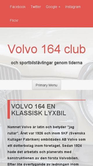 Mobile preview of volvo164club.se