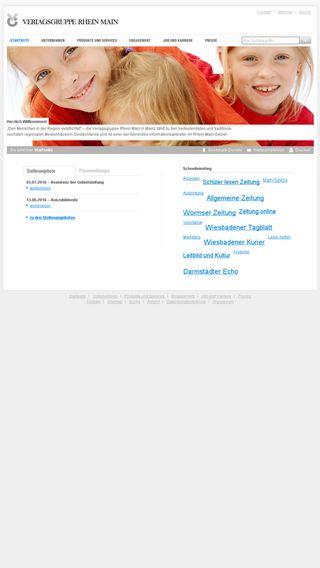 Mobile preview of vrm.de