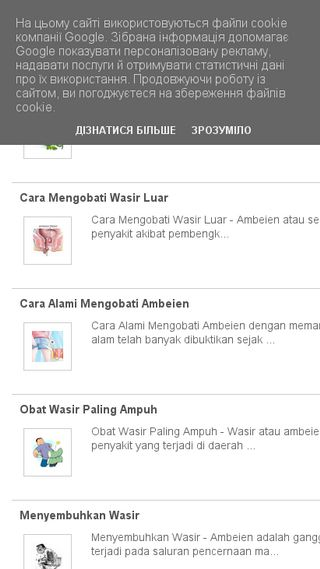 Mobile preview of wasir.biz