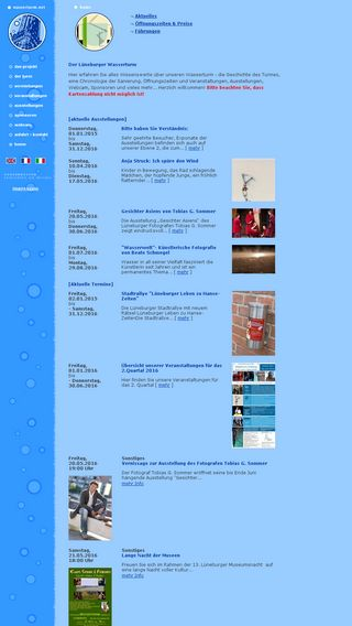 Mobile preview of wasserturm.net