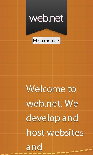 Mobile preview of web.net