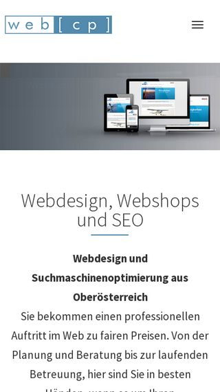 Mobile preview of webcp.at