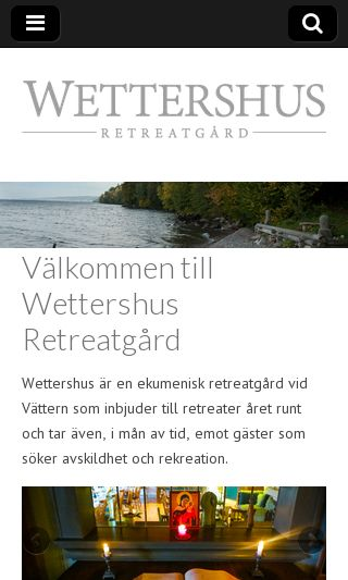 Mobile preview of wettershus.se