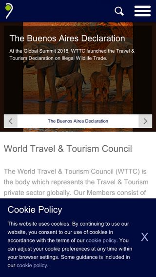 Mobile preview of wttc.org