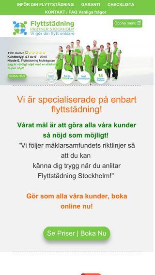 Mobile preview of billigflyttstädningstockholm.com