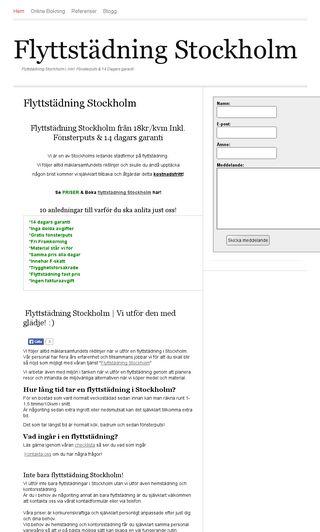 Mobile preview of braflyttstädningstockholm.se