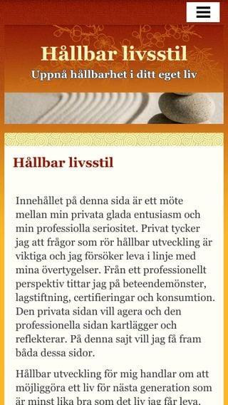 Mobile preview of hållbarlivsstil.se